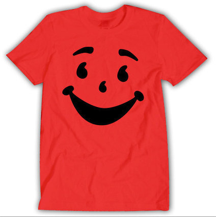 Kool Aid Face Oh Yeah Cherry T-shirt Unisex 002 | Binary Options | Scoop.it