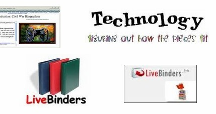 LiveBinders Tips and Tricks - LiveBinder | teaching with technology | Scoop.it