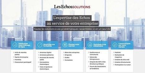 «Les Echos» accélèrent leur diversification   DIVERSIFICATION LAB   Scoop.it