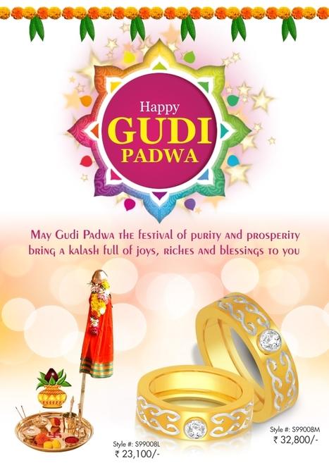 Wishing you a Happy &amp; Prosperous Gudi Padwa!<br/>~ http://goo.gl/j4njSk   Gold Diamond Jewellery Designs   Scoop.it