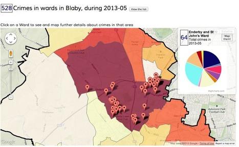 Exploring local crime data via data.police.uk | Open Data | Scoop.it