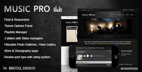 Download: Music Pro v3.2.8 - Music Oriented WordPress Theme - Null It | Free Word Press Theme & Plugins. | Scoop.it