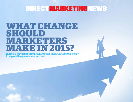 What One Change Should Marketers Make in 2015 | Telemarketing Solutions | Scoop.it