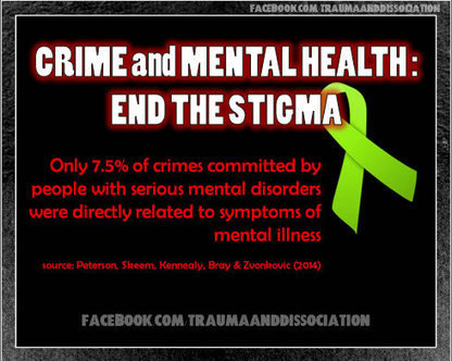 Mental Illness not normally linked to crime | Trauma and ... | Trauma and Dissociation | Scoop.it