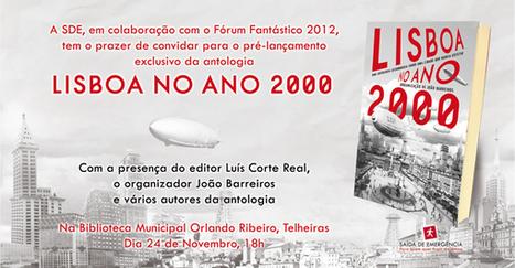 Morrighan: Saida de Emergência no Fórum Fantástico 2012!   Ficção científica literária   Scoop.it