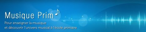 Accueil-Musique prim-Centre National de Documentation Pédagogique | sites pour les enseignants | Scoop.it