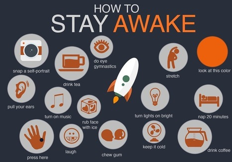 How to stay awake [infographic] | Hashslush --- Design, Technology, Social Media, Advertising, Mobile, Gadgets | Scoop.it