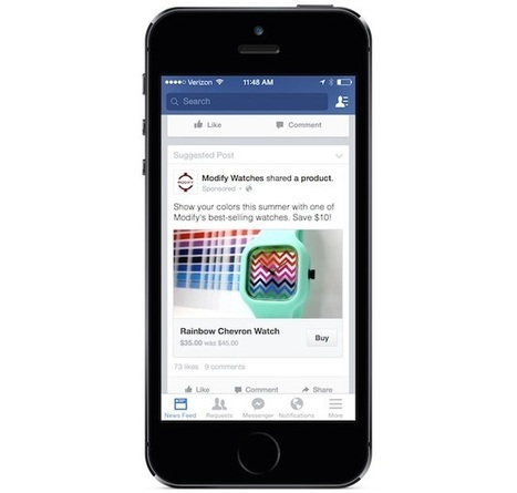 4 Reasons Why Facebook's New Buy Button Is a Win for Marketers - AllFacebook | Digital-News on Scoop.it today | Scoop.it