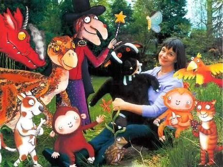 Julia Donaldson's official website | Children's Authors and Illustrators | Scoop.it