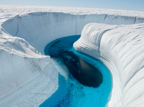 Greenland: The 'Ice Canyon' | Wicked! | Scoop.it