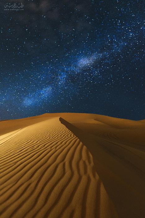 desert at night .! by Waleed  Aljuraish | My Photo | Scoop.it
