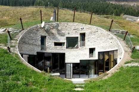 Villa Vals : une maison troglodyte dans les Alpes Suisses | EFFICYCLE | Scoop.it