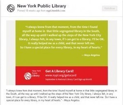 Social Media Marketing: How New York Public Library increased card sign-ups by 35% | MarketingSherpa Blog | The Information Professional | Scoop.it