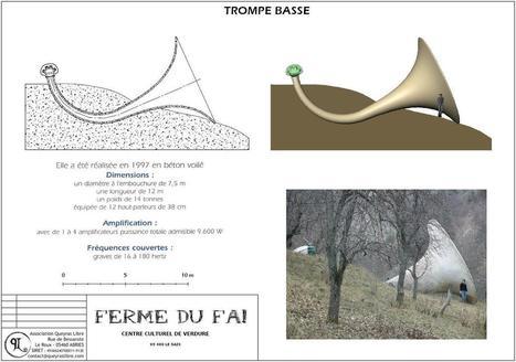 Orgue du Faï - Trompe grave | DESARTSONNANTS - CRÉATION SONORE ET ENVIRONNEMENT - ENVIRONMENTAL SOUND ART - PAYSAGES ET ECOLOGIE SONORE | Scoop.it
