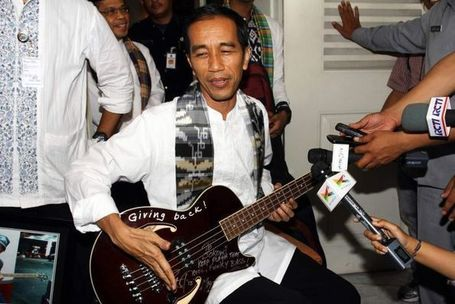 Jakarta governor surrenders Metallica guitar | Indonesiana | Scoop.it