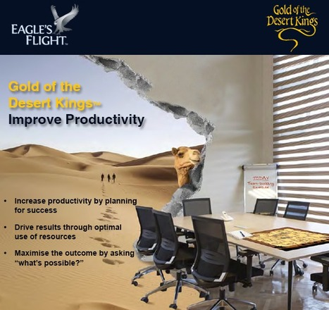 """Improve Productivity with Gold of the Desert Kings"" 