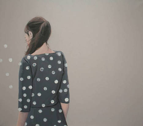 Poetic Paintings playing with Stripes and Polka Dots | Curiosités planétaires | Scoop.it