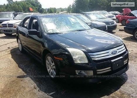 2007 FORD Fusion on online auction  | Salvage Auto Auction | Scoop.it