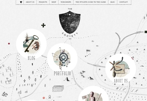 15 super creative web sites | Web Designing Pictomedia | Scoop.it