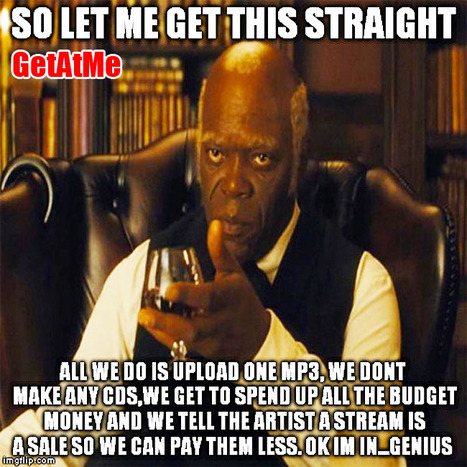 GetAtMe- So Let Me Get This Straight, we just upload 1 mp3... #ItsAboutTheMusic | GetAtMe | Scoop.it