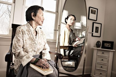 Reflections: a challenging portrait series of the elderly seeing their youth - Lost At E Minor: For creative people   Portrait photo   Scoop.it