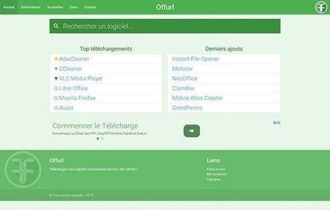 Téléchargez vos logiciels directement sur le site officiel avec Offurl | Geeks | Scoop.it
