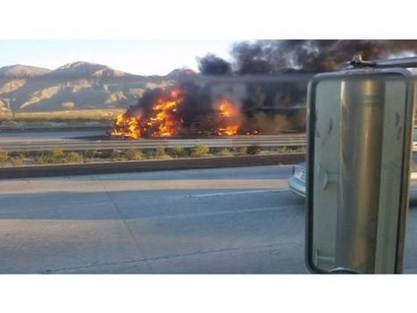 PALM SPRINGS: I-10W fully reopening -- 14 hours after fiery big rig wreck | California Trucking Safety and Accident Claim News and Information | Scoop.it