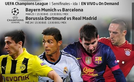 Borussia Dortmund vs Real Madrid en Vivo 24 de abril 2013 | Partidos Televisados | Ver Futbol en Vivo | Scoop.it