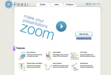 How to Use Prezi to Create Visual Lessons | Time to Learn | Scoop.it
