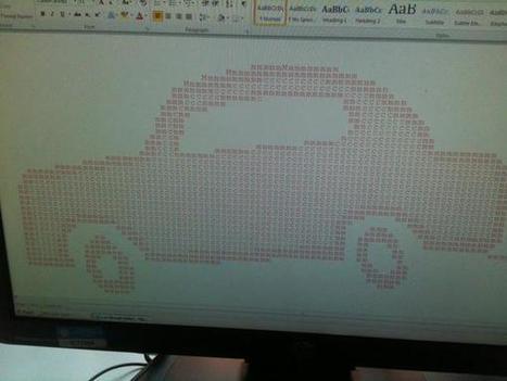 JIS Junior Computing on Twitter | ASCII Art | Scoop.it