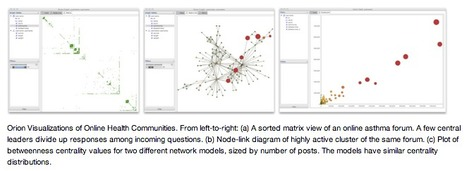 Orion: Modeling, Transformation and Visualization of Multidimensional Heterogeneous Networks I #SNA #dataviz #health | e-Xploration | Scoop.it