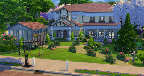 39 maison 39 in les sims page 5 for Maison sims 4 piscine