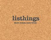 Listhings, des notes collaboratives sur un tableau de liège virtuel | TICE | Scoop.it