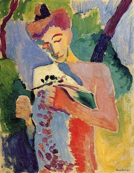 Mujer - Pintura al óleo | famous paintings gallery | Scoop.it