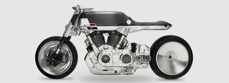 Vanguard's motorcycle celebrates utilitarianism with refined style | M A G | Scoop.it