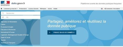 Open-data : de nouvelles données gouvernementales mises à disposition gratuitement | Le Monde | Information Documentation | Scoop.it