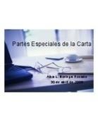 Partes Especiales de La Carta   Sistemas de Oficina   Scoop.it