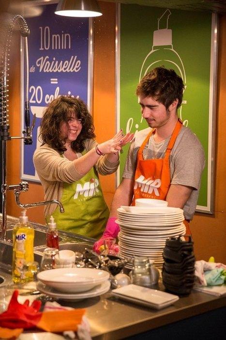 Dans le restaurant Mir, payez l'addition en faisant la vaisselle   streetmarketing   Scoop.it