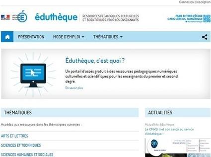 éduthèque - EduThèque - Éduscol | Documentation | Scoop.it