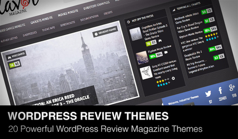 20 Powerful Responsive WordPress Review Magazine Themes of 2013 | Daily Design Notes | Scoop.it