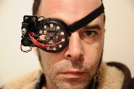 DIY augmented reality eyepatch boosts senses - SlashGear | leapmind | Scoop.it