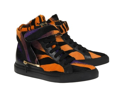 d-s!de - Ginevra ponyskin jungle pattern and matched strap sneakers | Le Marche & Fashion | Scoop.it