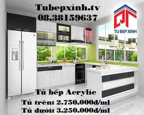 Tủ bếp Acrylic nhà anh Luận tại quận 10 | Tủ bếp, tủ bếp hiện đại với thiết kế đẹp, mang niềm vui đến gia đình bạn | Scoop.it