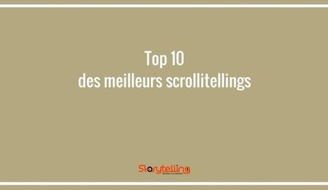 Scrollitelling : les 10 meilleurs scrollitelling   Storytelling.fr   Web Marketing   Scoop.it