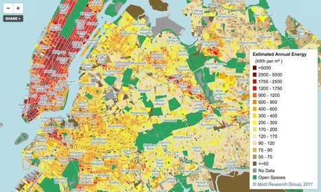 New York's energy use mapped in patchwork infographic | New York City Environmental Sustainability | Scoop.it