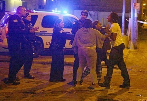 Two Chicago Police Officers Shot After Traffic Stop   What in the world is going on ?   Scoop.it