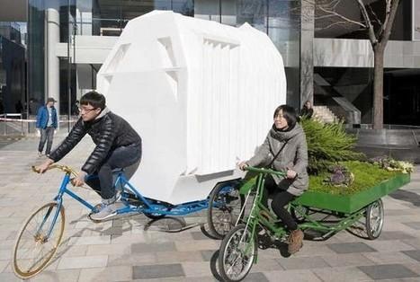 Un envie de partir à l'aventure avec un camping-car écolo grâce au vélo …Étonnant non ? | innovations immobilières | Scoop.it