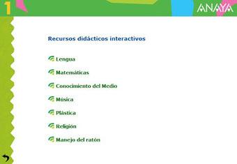 BANCO TIC | Recursos Interactivos Anaya 1º de Primaria - La Eduteca | Maestros de corazón | Scoop.it