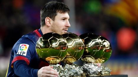 Lionel-Messi-Balon-de-Oro | Soccer | Scoop.it