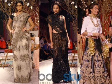 French Elements In Monisha Jaising's ICW 2014 Collection | Luxury & Fashion Markets in India | Scoop.it